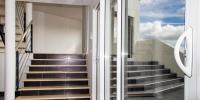 escalier salon - séjour en demi niveau 2