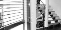 escalier salon - espace nuit en demi niveau 3