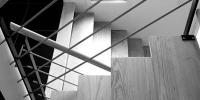 escalier massif et metal
