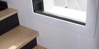 escalier demie niveau interieur extrieur