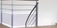 rampe de balcon metal et bois