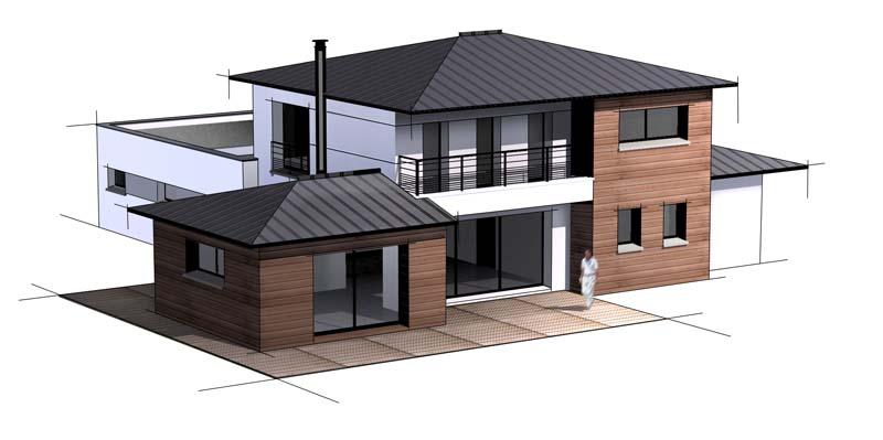 maison contemporaine 8 constructeur de maison haut de gamme finistere et morbihan. Black Bedroom Furniture Sets. Home Design Ideas