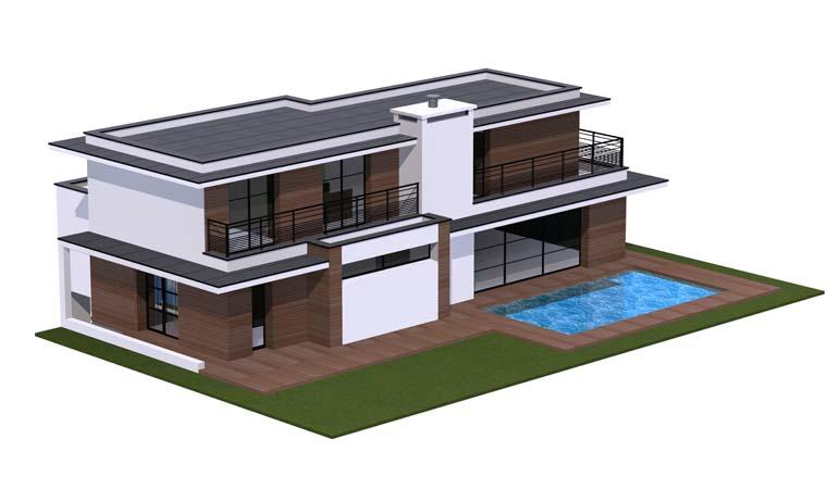 Maison contemporaine 12 constructeur de maison haut de for Constructeur de maison haut de gamme