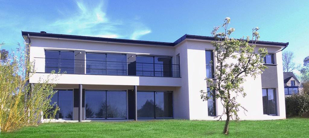 Trabeco morbihan constructeur maison haute de gamme for Constructeur maison morbihan