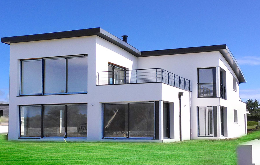 Maison neuve constructeur for Constructeur de maison neuve