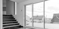 escalier salon - séjour en demi niveau 1
