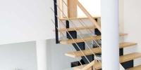 escalier massif et metal 3