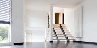 escalier salon - espace nuit en demi niveau 2