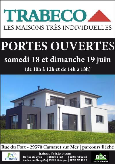 Porte ouverte trabeco 18 et 19 juin 2011 constructeur de for Porte ouverte maison